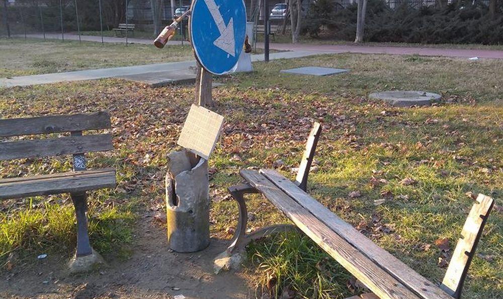 """Abbandonata e oggetto di vandalismi l'area verde di corso Pilotti a Tortona. Il Comune: """"Interverremo"""""""