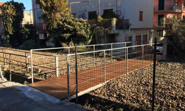 A Diano Marina aperto l'attraversamento pedonale in zona Sant'Anna  per favorire il turismo