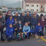 Gli atleti disabili della Polisportiva Dilettantistica IntegrAbili in visita al Nucleo Elicotteri dei Carabinieri
