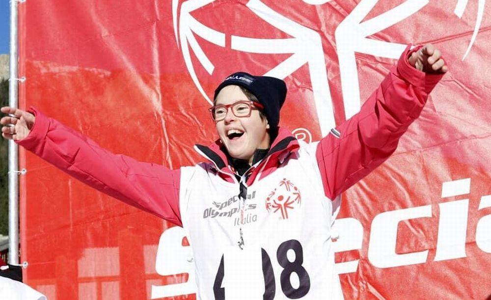 La novese Elisa Trucchi vince un oro e due argenti ai Giochi nazionali invernali Special Olympics