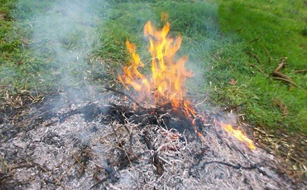 A Tortona fino al 31 marzo è vietato bruciare sterpaglie. La disposizione del Comune