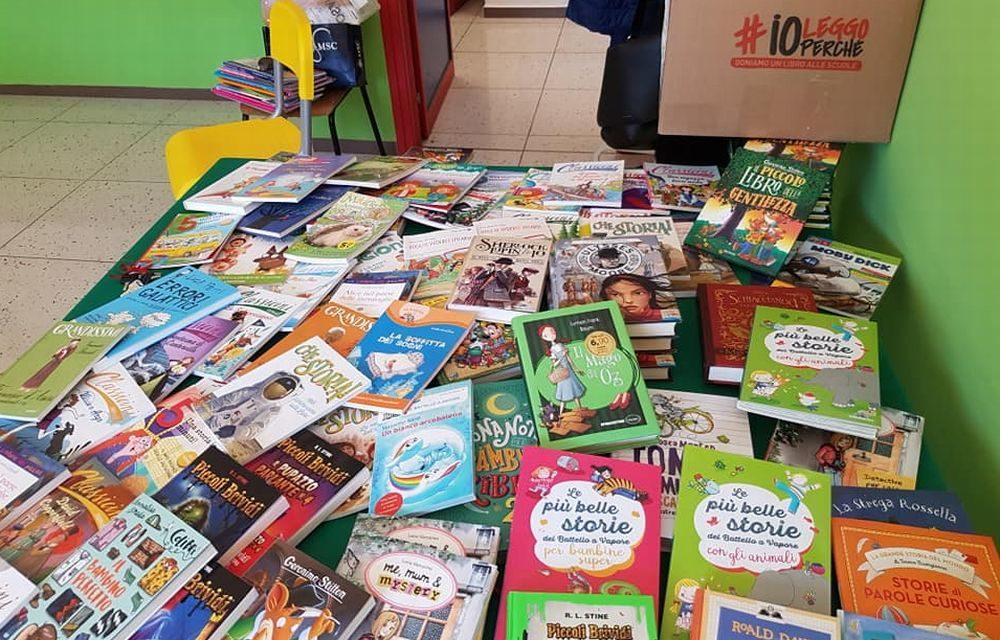 """Alla scuola """"Rodari"""" di Tortona i libri del Progetto """"Io leggo perché"""""""