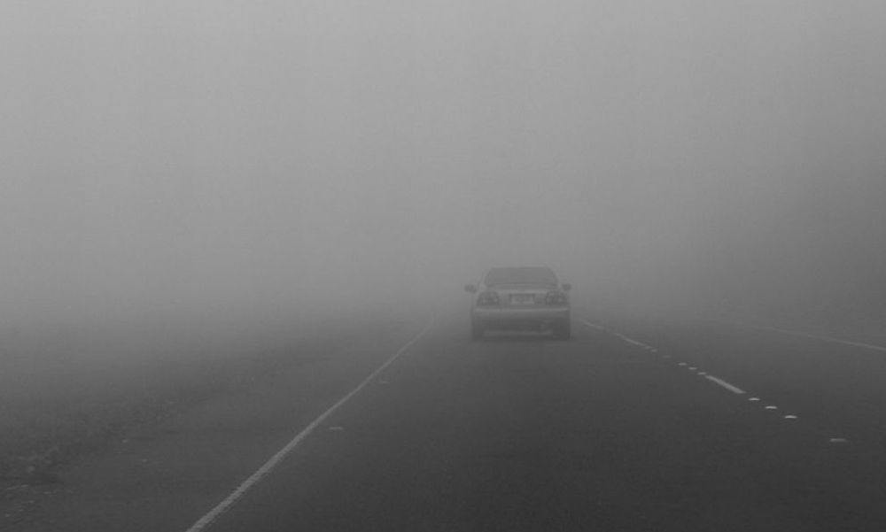 La nebbia causa tre incidenti e quattro feriti in un'ora ad Alessandria