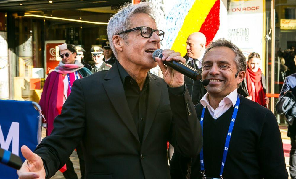 Il Dianese Gianni Rossi torna al Festival di Sanremo con il suo speciale Red Carpet
