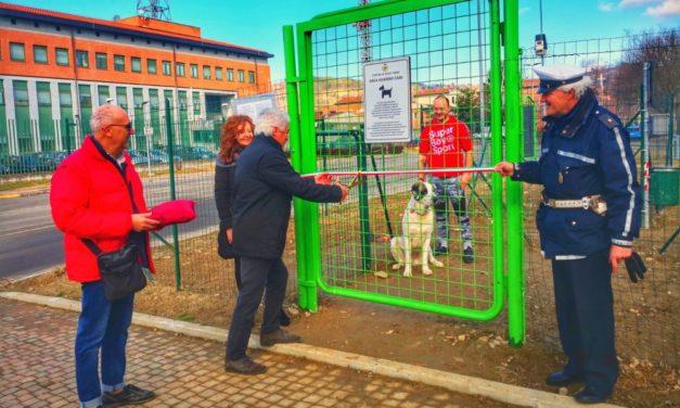 Ad Acqui Terme inaugurate 4 aree per i cani dove possono correre liberi