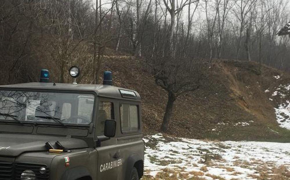 Tagliavano alberi in un'area protetta a Cassano Spinola, bloccati e multati dai Carabinieri