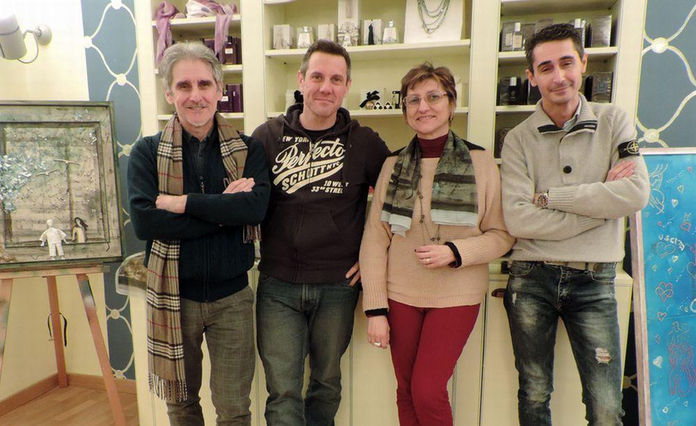 Sabato a Tortona il finissage della mostra di Fabrizio Falchetto, Fabio Bertoni, e Roberto Bottone