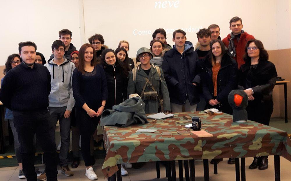 Gli studenti del Marconi-Carbone di Tortona non imparano la storia solo sui libri