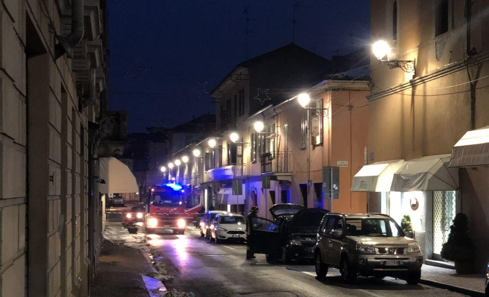 Mobilitazione a Tortona per una fuga di gas in corso Montebello. Diverse ore l'intervento