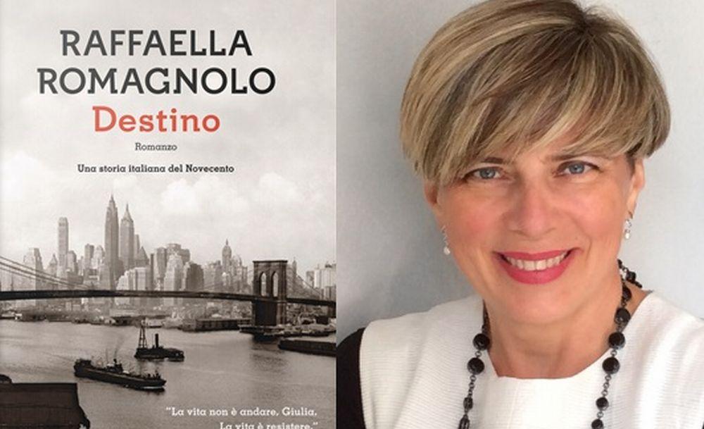 Raffaella Romagnolo a Imperia presenta il nuovo libro
