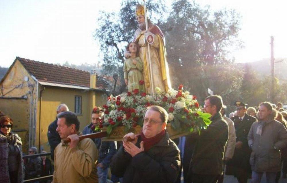 Domenica alla frazione Muratori di Diano Marina c'è  c'è la festa di San Biagio
