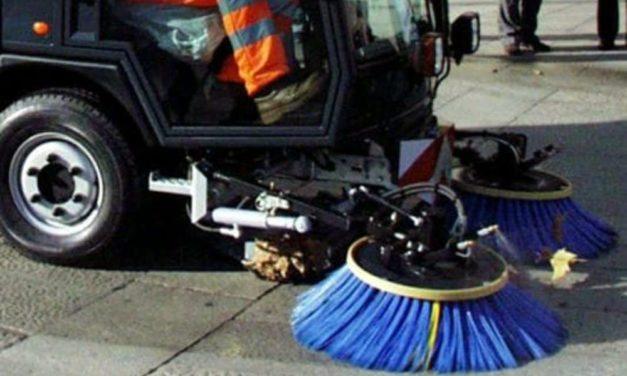 Il nuovo sistema di spazzamento delle strade a Novi Ligure curato da Gestione Ambiente
