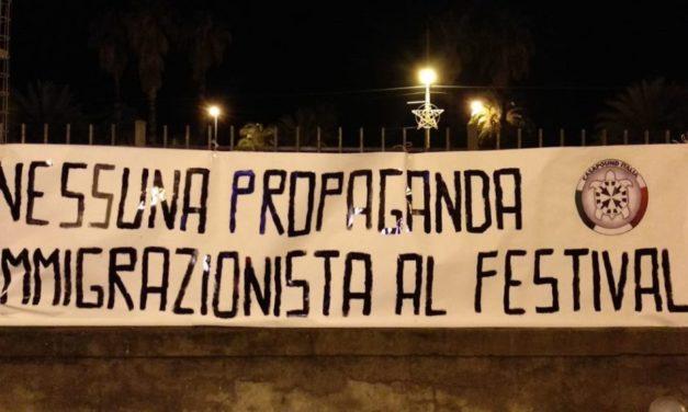 CasaPound Imperia chiede di non fare propaganda pro immigrazione al festival di Sanremo
