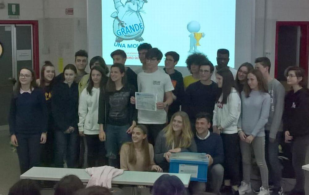 Il liceo Amaldi premiato all'universita' di Genova: primo e terzo posto all'Avogadro quiz