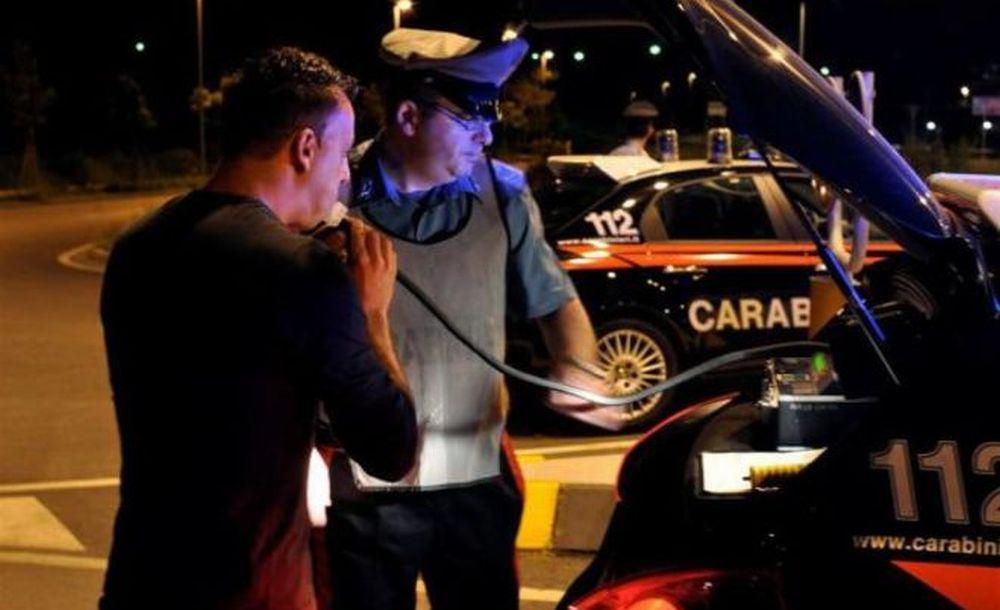 A Volpeglino i carabinieri sorprendono un tortonese che guida ubriaco con un tasso 4 volte oltre il limite