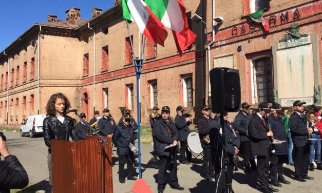 In Cittadella ad Alessandria la Cerimonia per la Giornata  dell'Unità Nazionale