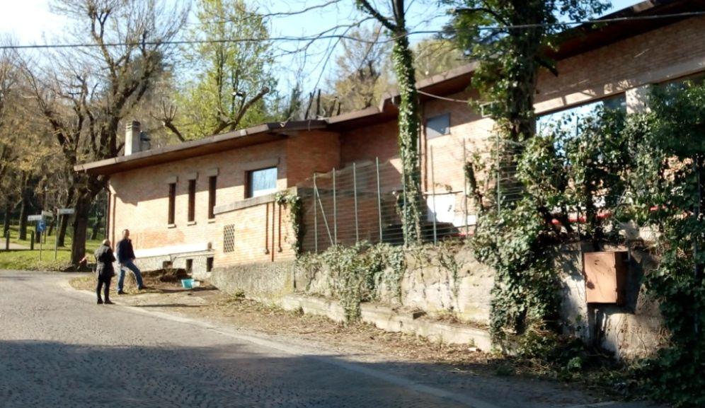 Procedono veloci i lavori di ristrutturazione allo Chalet Castello di Tortona grazie alla Fondazione