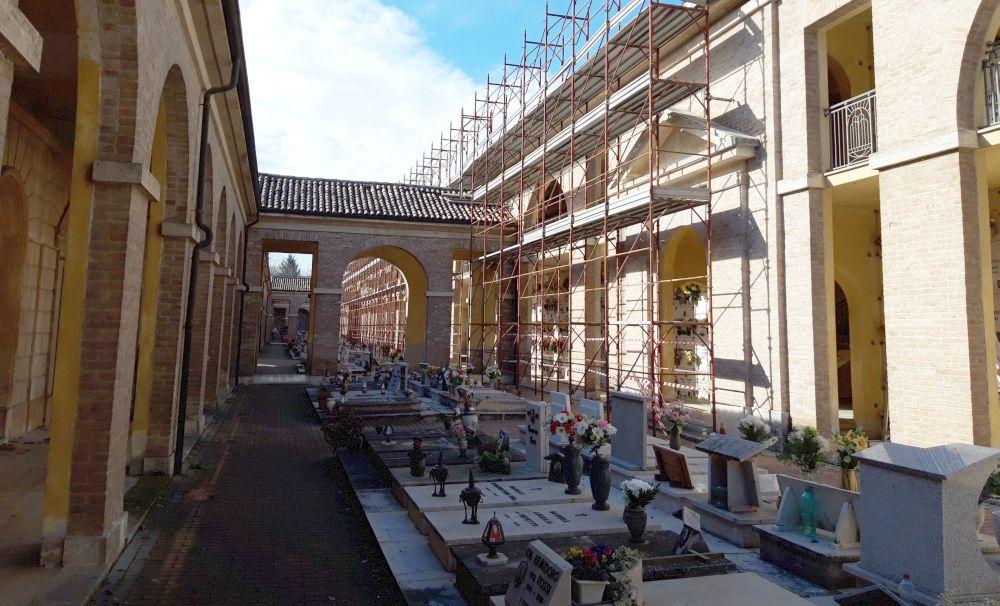 Tortona, al via i lavori di ristrutturazione del cimitero urbano