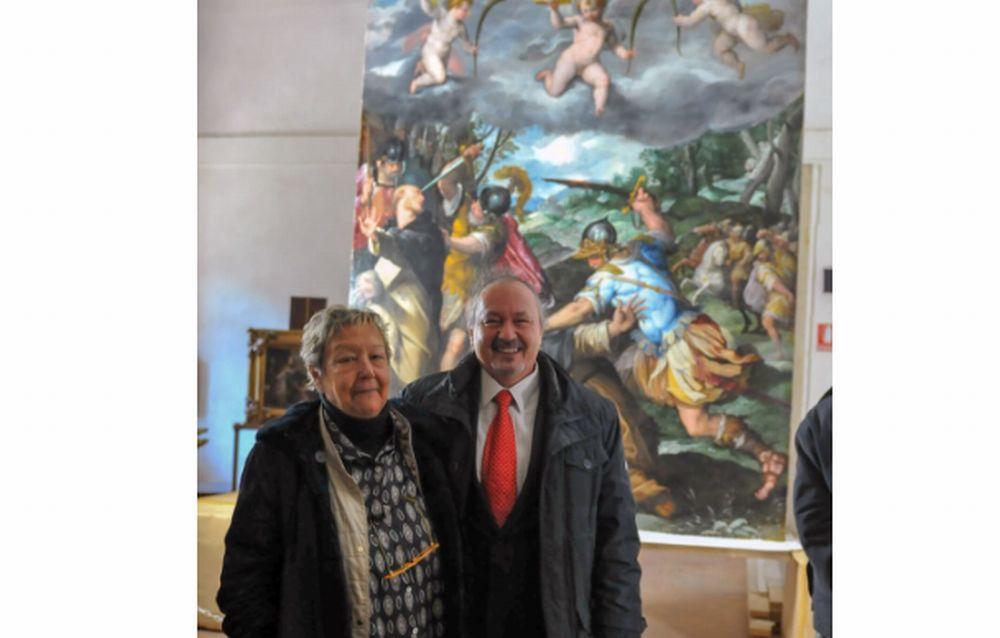 Presentazione del restauro del 'Martirio di San Pietro da Verona' a Bosco Marengo