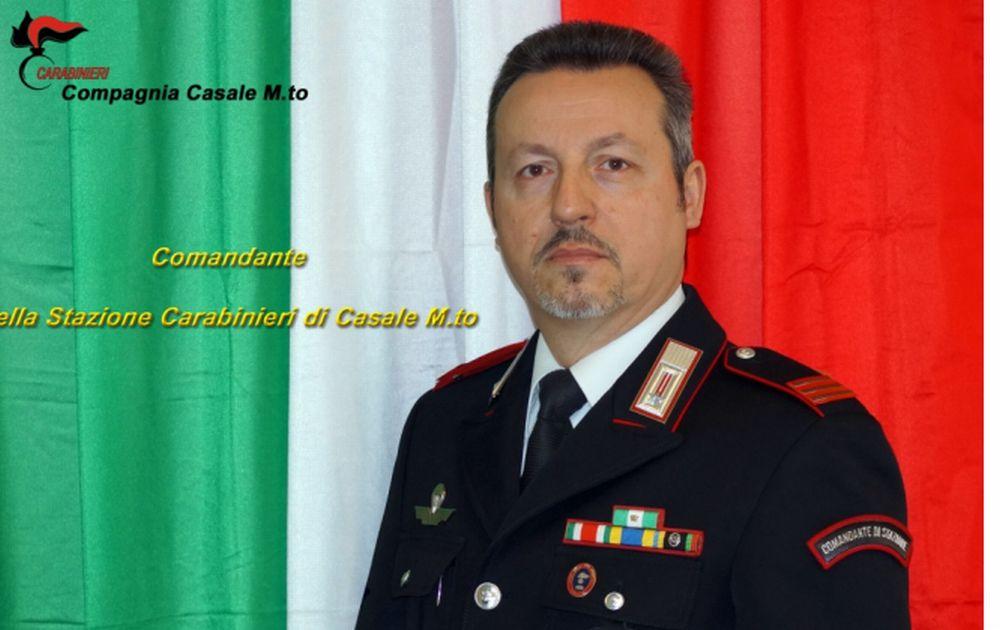 Riccardo De Momi nuovo comandante dei Carabinieri di Casale Monferrato