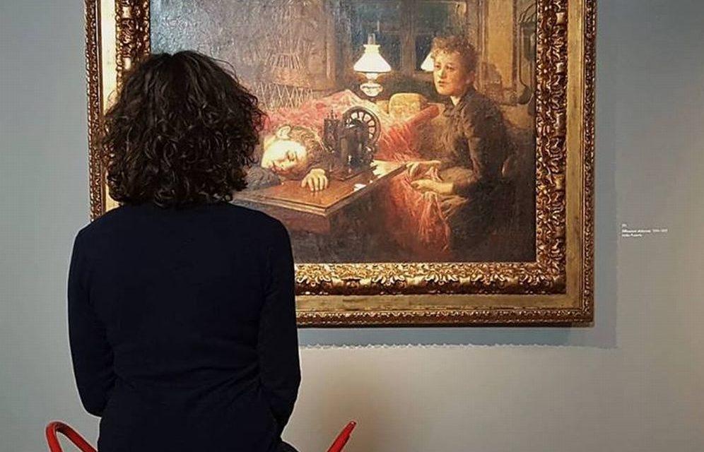 """Ammagliati a vedere """"Riflessioni dolorose"""" al Museo del Divisionismo di Tortona"""
