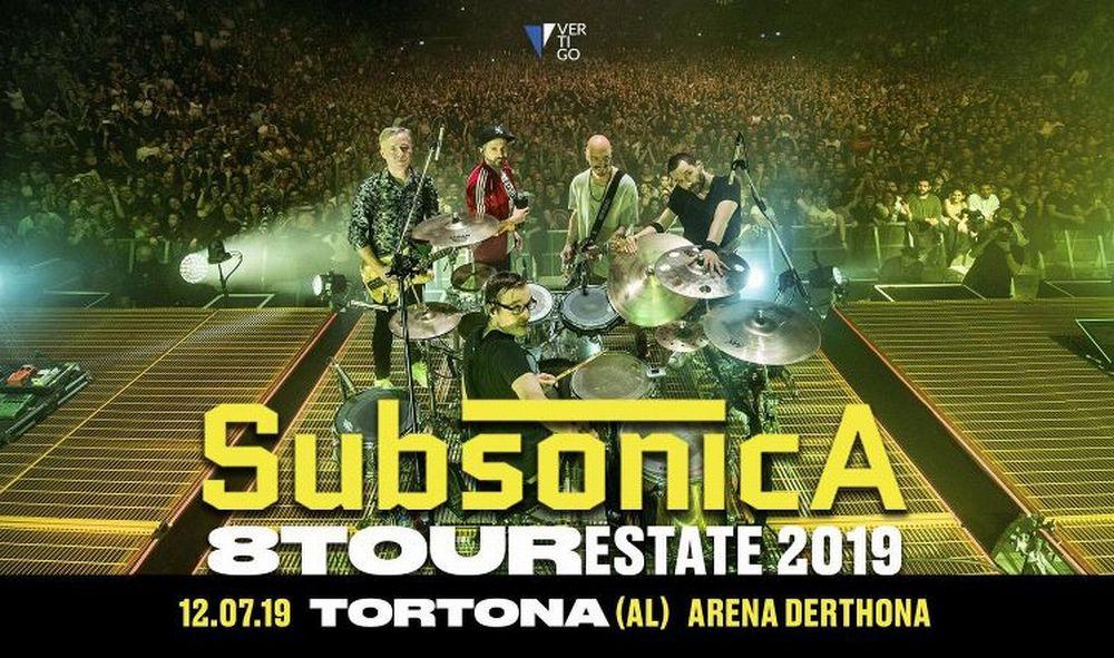 A Tortona il secondo appuntamento di Arena Derthona sarà coi Subsonica