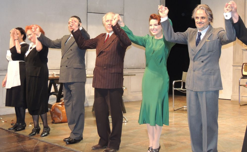 """A Tortona teatro esaurito per Jeppy Gleijses: """"Questa è la mia città, recitare qui è un piacere"""""""