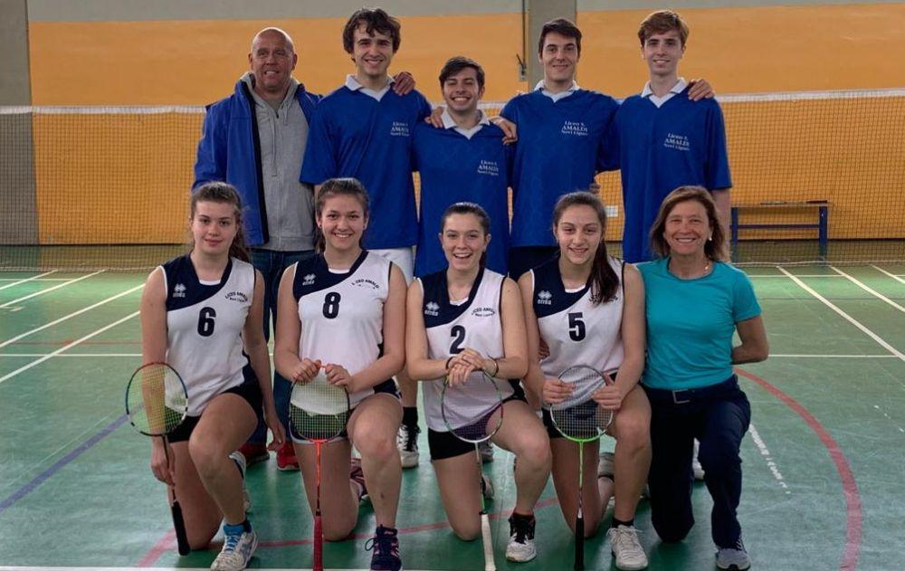 """Gli studenti del Liceo """"Amaldi"""" di Novi Ligure ai vertici nazionali del Badminton"""