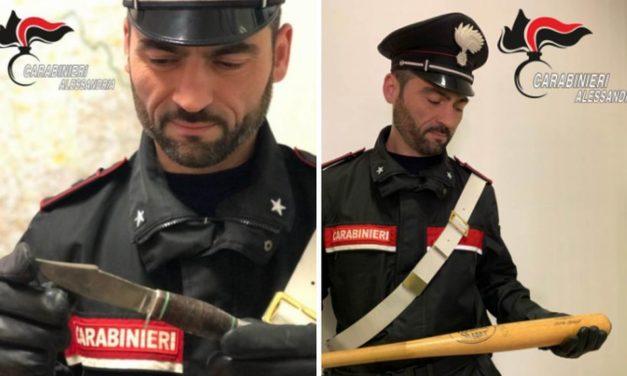 Tre persone denunciate dai Carabinieri di Alessandria