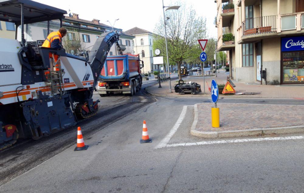 Ad Acqui Terme si aggiustano le strade con diversi interventi