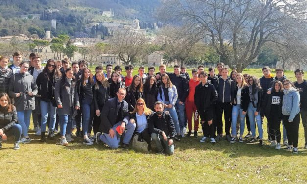 """Gli studenti del """"Marconi"""" di Tortona in visita in Umbria"""