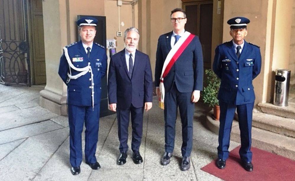 Ad Alessandria la visita dell'Ambasciatore e della Delegazione Brasiliana nel ricordo di Luiz Lopes Dornelles
