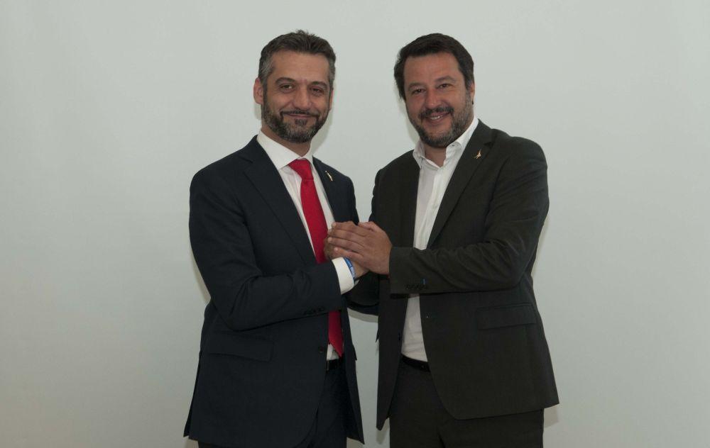 Domenica Matteo Salvini sarà a Tortona per sostenere Federico Chiodi Sindaco