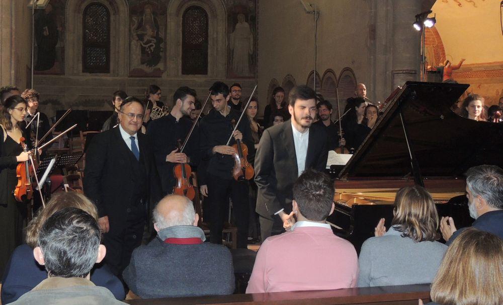 Stupenda serata a Rivalta Scrivia per l'inaugurazione del Festival delle orchestre giovanili. Le immagini