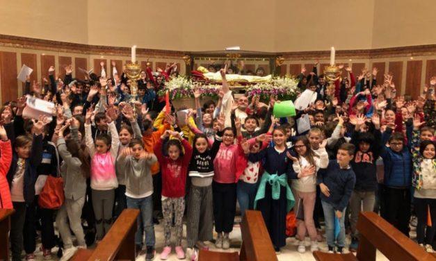 Celebrata la festa di San Luigi Orione a Tortona col Vescovo tanta gente e molti bambini