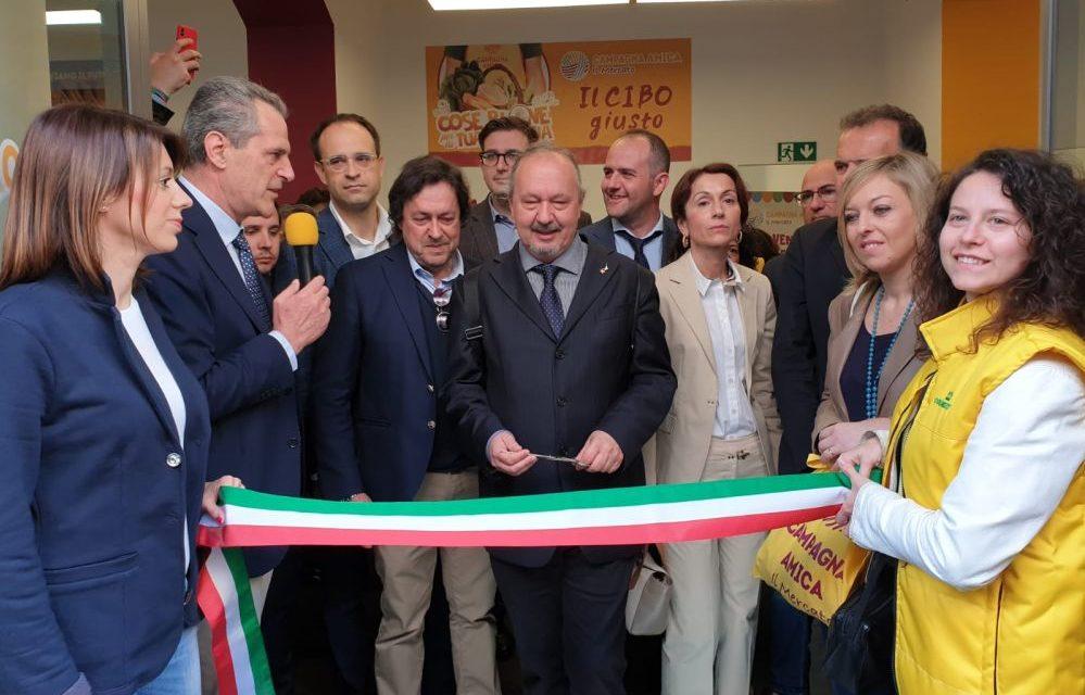 Ad Alessandria inaugurato il primo mercato coperto di Campagna amica