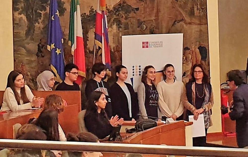Sei giovani tortonesi del Marconi premiati a Torino