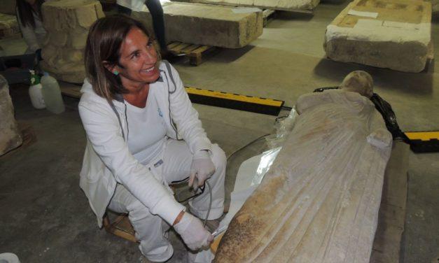 Proseguono spediti i lavori per aprire il nuovo Museo Archeologico di Tortona