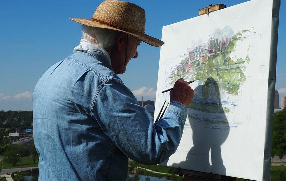 Personaggi Alessandrini: il pittore pensieroso Omero Quarati