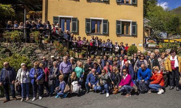 Cento persone della Pozzolo d'argento alla scoperta di Lorsica