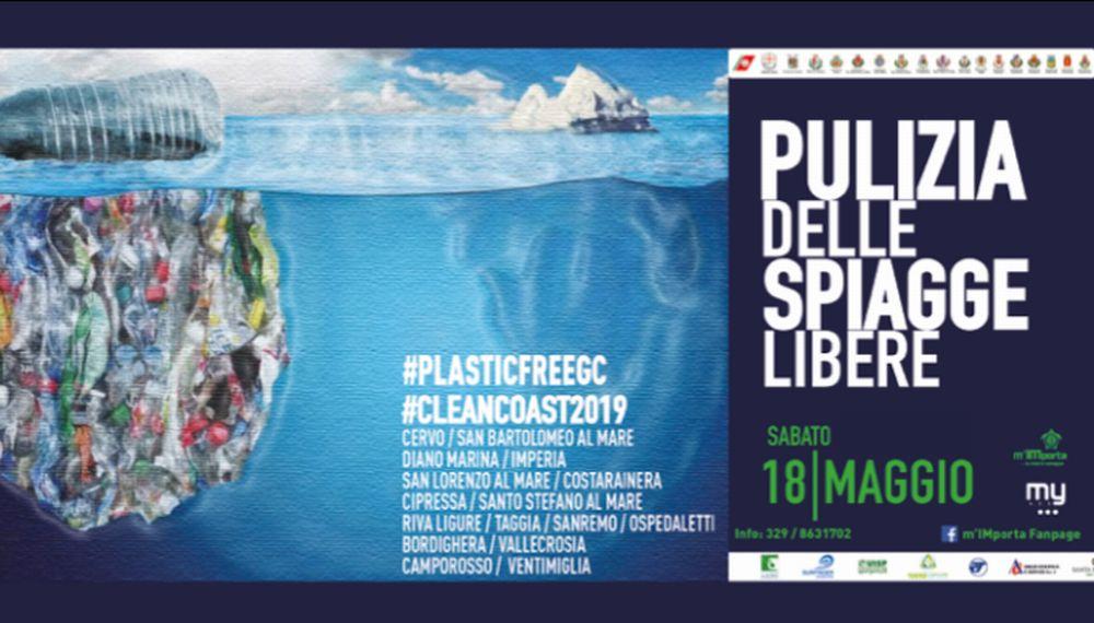 Un successo la pulizia delle spiagge nel Golfo Dianese e nel Ponente Ligure per il progetto m'IMporta