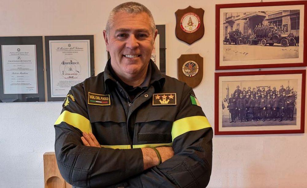 Roberto Marchioni è il nuovo comandante provinciale dei Vigili del fuoco
