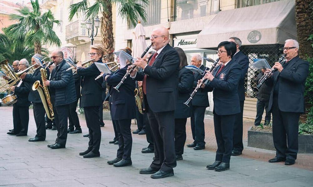 """Concerto della """"Banda Filarmonica di Imperia"""" al Museo Nazionale dei Trasporti di Taggia"""