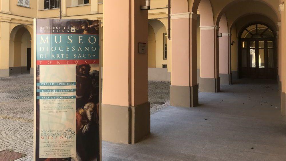 Il Museo Diocesano di Tortona esporrà le opere prestate in giro per l'Italia