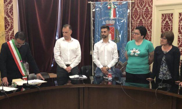 Insediata la nuova Amministrazione Comunale di San Bartolomeo al mare