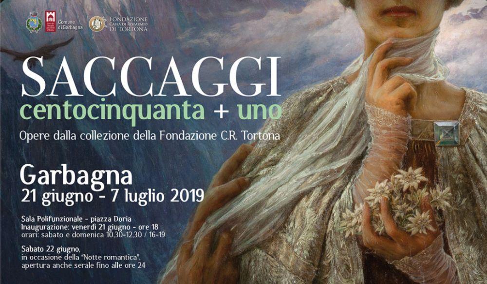 La Fondazione Cassa di Risparmio di Tortona organizza un' importante mostra di Cesare Saccaggi a Garbagna