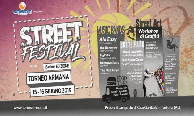 A Tortona due giorni di sport e musica con lo Street Festival sponsorizzato da Simecom