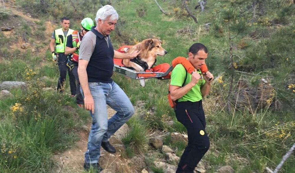 Il Soccorso Alpino di Alessandria salva un cane e 6 escursionisti sul monte Tobbio