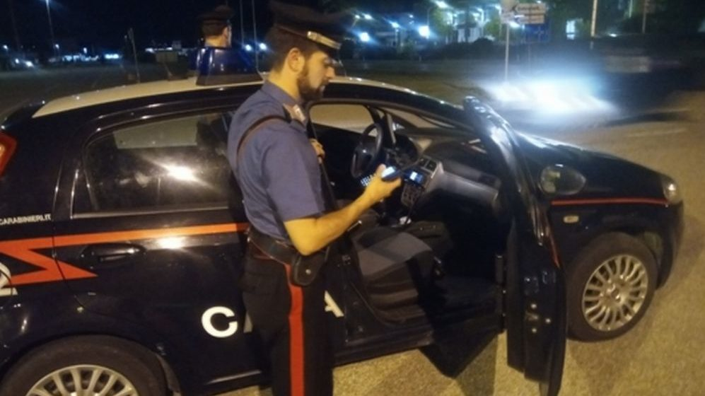 Nomadi, tossici e pusher nei guai nel casalese, presi dai Carabinieri