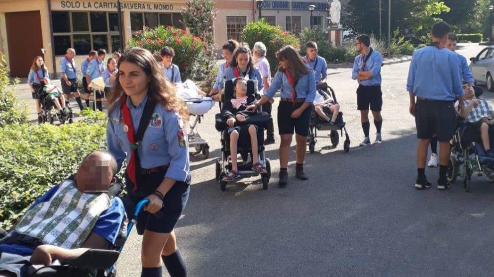 Gli Scout di Salerno hanno vissuto per tre giorni al Piccolo Cottolengo di Tortona, aiutando chi ha bisogno